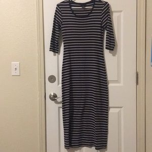 The Limited Striped Curvy Dress